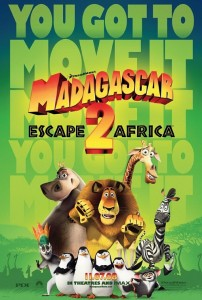 madagascar twoposter 202x300 Madagascar: Escape 2 Africa   Escape Unlikely   Movie Review
