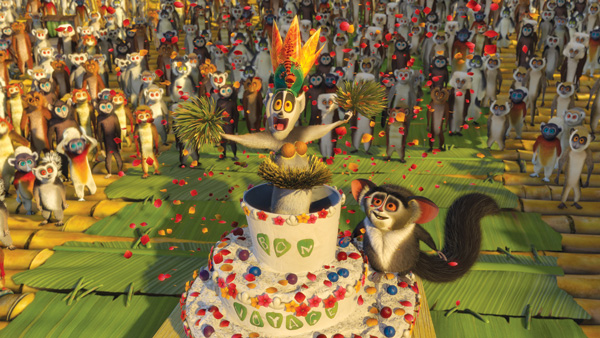madagascarjulien Madagascar: Escape 2 Africa   Escape Unlikely   Movie Review