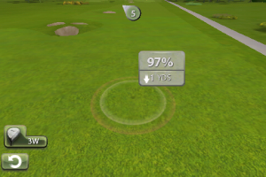 EA Tiger Woods aim
