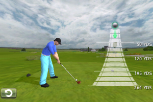 EA Tiger Woods swing