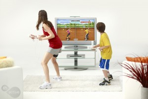 social tennis 300x200 EA Sports Active   Review Update & Win Yours Here