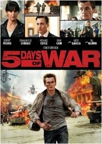 DVD Coverart 5 Days Of War DVD Giveaway