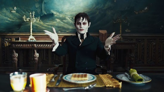 JOHNNY DEPP as Barnabas Collins in Warner Bros. Pictures€™ and Village Roadshow Pictures€™ gothic comedy €œDARK SHADOWS,€ a Warner Bros. Pictures release.