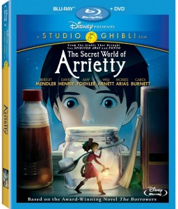secret world of arrietty bd cover 256x300 The Secret World Of Arrietty Blu Ray Review