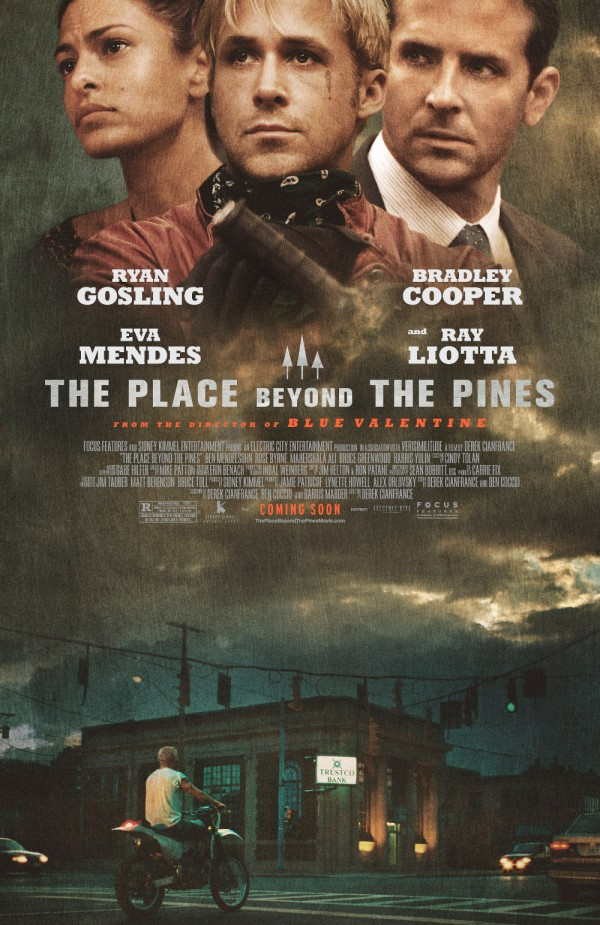 pines wide 600x925 The Place Beyond The Pines Gets A Curious Poster
