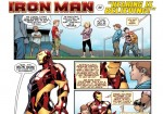 Iron Man Delivers Hearing Impairment Focused Poster-Comic To Honorary Super Hero