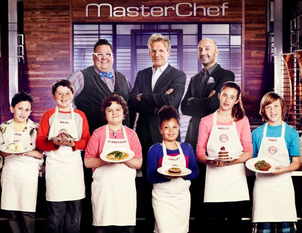 junior masterchef group 600x462 FOX Fall Schedule 2013 Preview With Trailers And Images