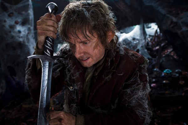 "MARTIN FREEMAN as the Hobbit Bilbo Baggins in New Line Cinema's and Metro-Goldwyn-Mayer's fantasy adventure ""THE HOBBIT: THE DESOLATION OF SMAUG,"" a Warner Bros. Pictures release."