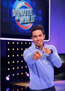 Minute To Win It Exclusive Clip   Apolo Anton Ohno And Bucket Heads