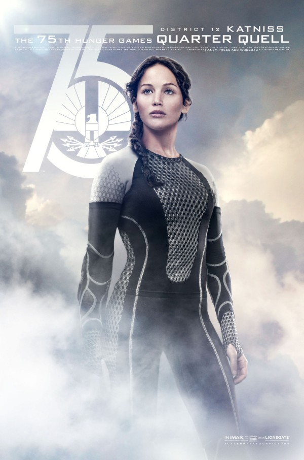 FIN03 Idiom 1Sht QQ Katniss 600x906 The Hunger Games: Catching Fire Quell Posters   More Women Than Expected