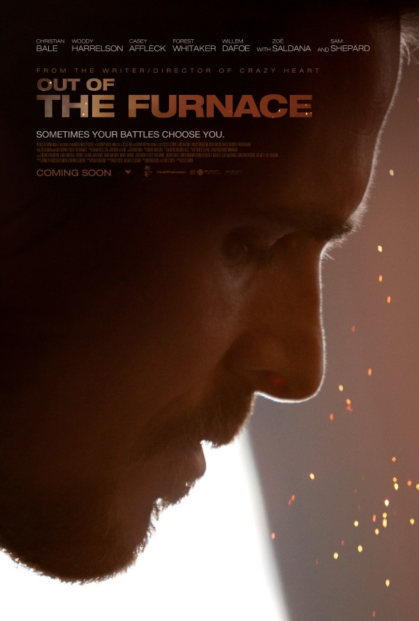 out of the furnace poster 600x889 Out Of The Furnace Trailer Soars On Talent Alone