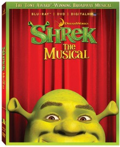 Shrek the musical Blu-Ray