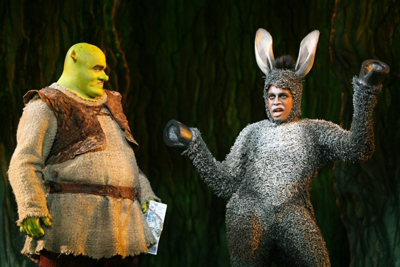 Shrek the musical blu ray